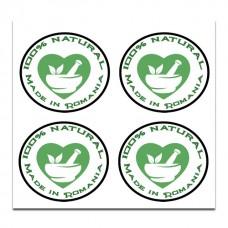 Etichete autoadezive Produs natural 80bc