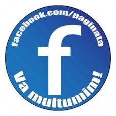 Set 70 etichete adezive Facebook personalizate