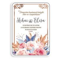 Etichete mini invitatii nunta Personalizate 36bc
