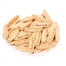 Etichete lemn Hand made 20bc