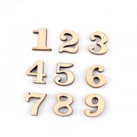 Numere decupate lemn 50bc