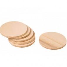 Discuri lemn 10cm 2bc