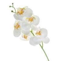 Flori Artificiale Orhidee 5 Flori Alb