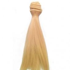 Par papusi 15cmx100cm  bicolor suvite roz/blond