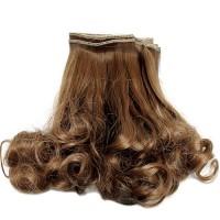 Par pentru papusi 23cm Saten Curly