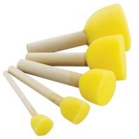 Set 5 pensule de tamponare din burete, marimi variabile