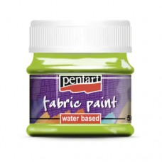 Vopsea pentru textile 50ml Mere verzi