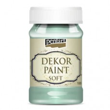 Vopsea decorativa soft 100ml Verde menta